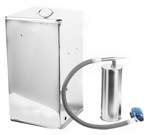 Коптильня холодного копчения Дым Дымыч 02Б дымогенератор+емкость 50 л