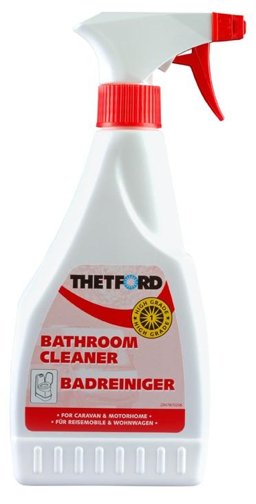 цена на Чистящее средство для биотуалета THETFORD Bathroom Cleaner (антистатический и отбеливающий спрей для пластика, объём 500 мл)