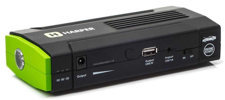 Пусковой аккумулятор автомобильный (джамп-стартер) HARPER ES-13685 аккумулятор harper es 8085