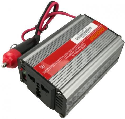 Фото Автомобильный инвертор напряжения Digma DCI-150 150Вт сотовый телефон digma linx a177 2g