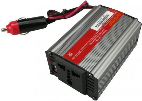 Автомобильный инвертор напряжения Digma DCI-200 200Вт телевизор digma dm led32r201bt2