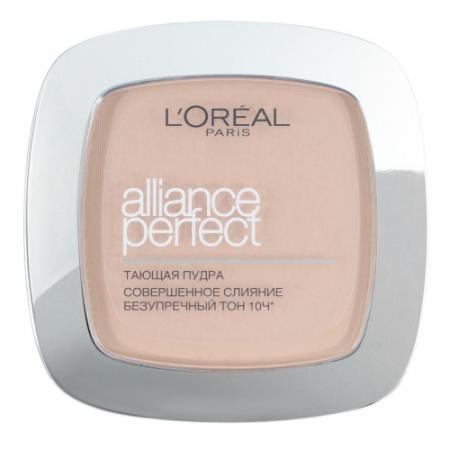 Фото - LOREAL ALLIANCE PERFECT Пудра для лица тон R2 ванильно-розовый loreal alliance perfect пудра для лица тон d5