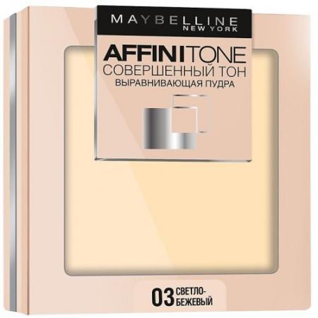 Картинка для MAYBELLINE Компактная пудра выравнивающая Affinitone 03 светло-бежевый