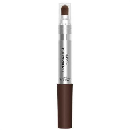 LOREAL BROW ARTIST Крем-карандаш для бровей 02 светло-коричневый тональные средства loreal paris тональный крем infaillible loreal