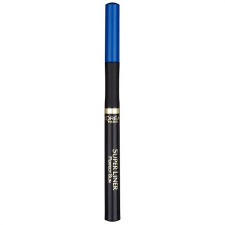LOREAL SUPER LINER Подводка для глаз Перфект слим тон синий seventeen high precision liner waterproof подводка для глаз водостойкая тон 09 ярко голубой 1 8 мл