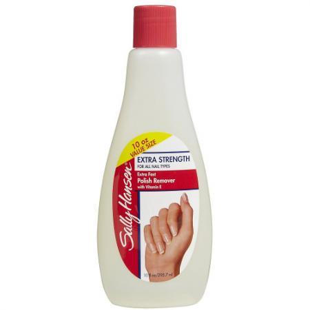 Sally Hansen Жидкость для снятия лака супер-укрепляющая для всех типов ногтей Extra Strength For All