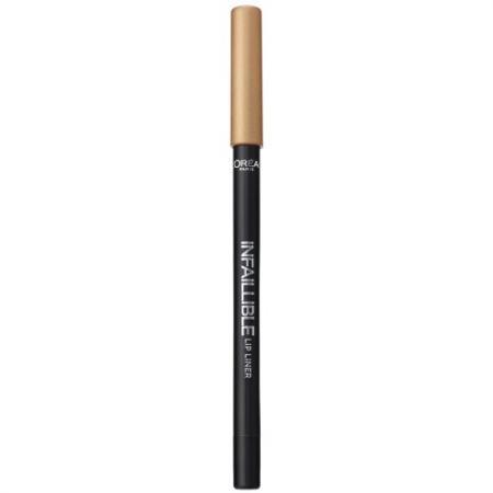 LOREAL INFAILLIBLE Карандаш для губ тон 001 Идеальное сияние карандаш для губ loreal paris infaillible тон 001 идеальное сияние a9305060