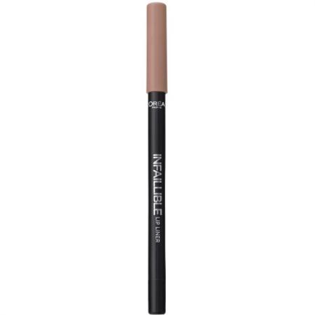 LOREAL INFAILLIBLE Карандаш для губ тон 208 Ванильный бисквит карандаш для губ loreal paris infaillible тон 001 идеальное сияние a9305060