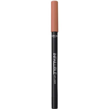 LOREAL INFAILLIBLE Карандаш для губ тон 101 Идеальный нюд карандаш для губ loreal paris infaillible тон 001 идеальное сияние a9305060