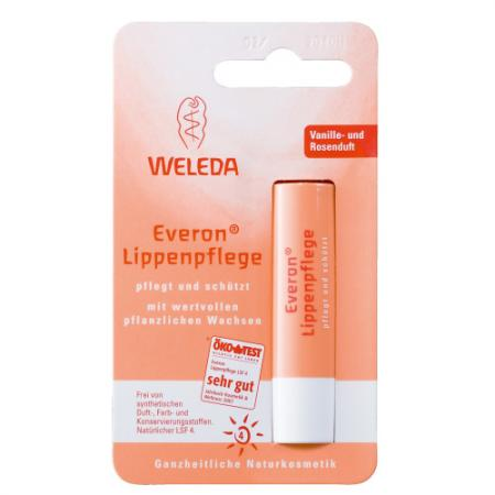 WELEDA Бальзам для губ Everon 4,8 г бальзам для губ weleda бальзам для губ everon® lip balm объем 4 8 г