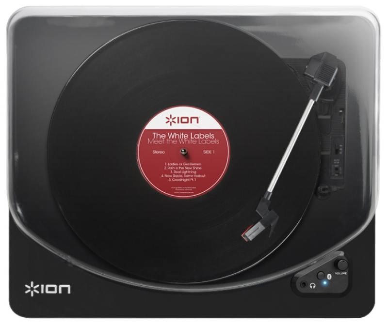 Виниловый проигрыватель ION AIR LP черный цена и фото