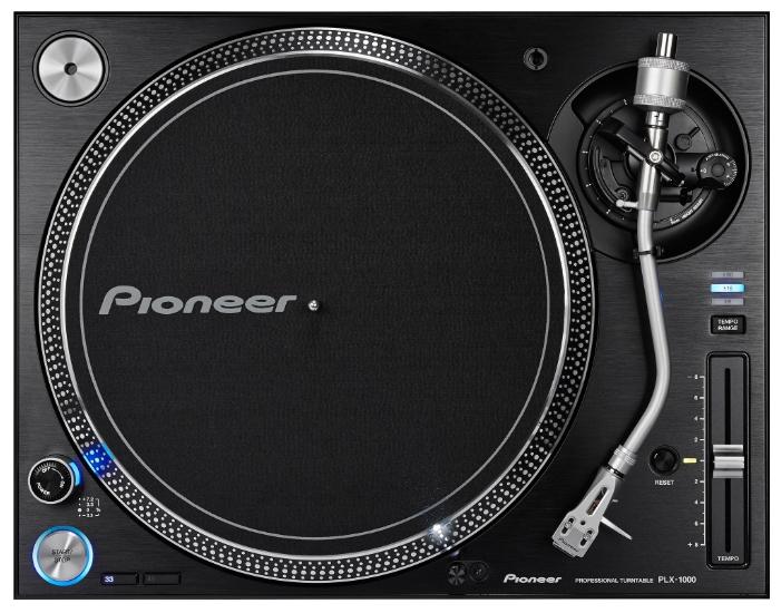 Проигрыватель винила Pioneer PLX-1000 черный dj cd проигрыватель pioneer cdj tour1