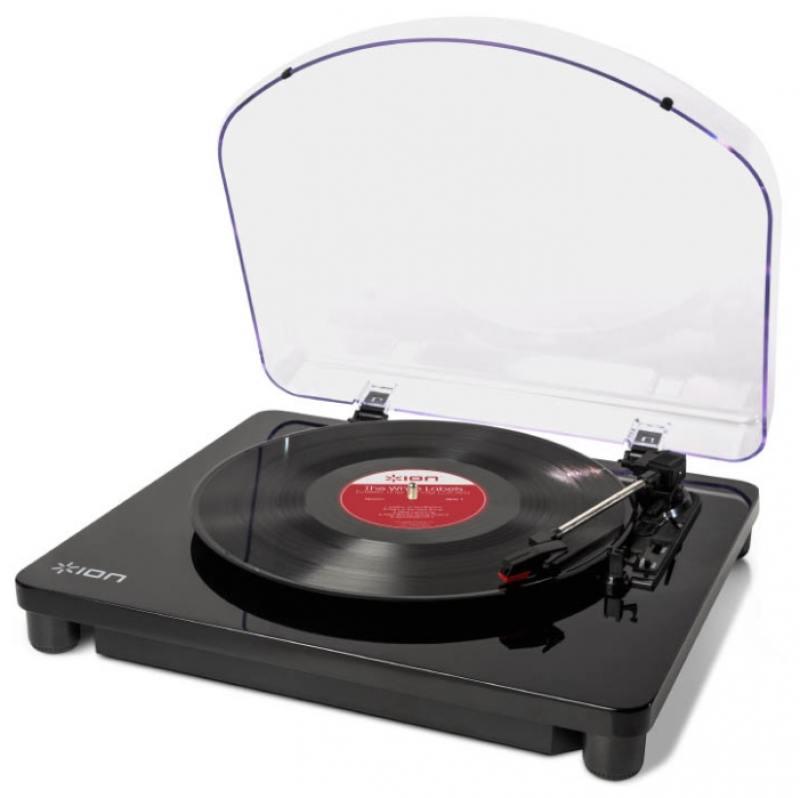 Виниловый проигрыватель ION Classic LP черный виниловый проигрыватель ion max lp черный