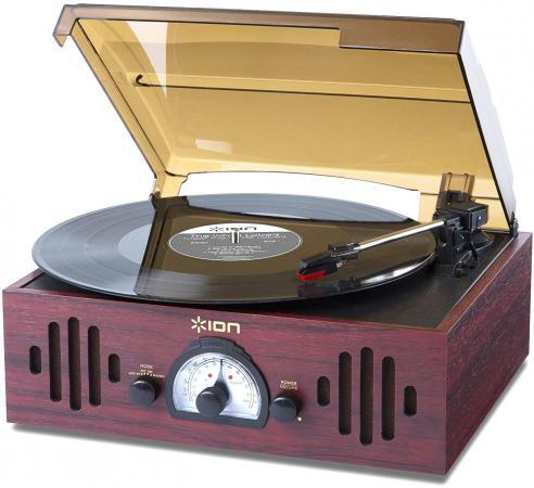цена на Виниловый проигрыватель ION Audio Trio LP черный
