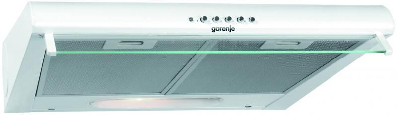 Вытяжка подвесная Gorenje DU5446W вытяжка подвесная gorenje du5345w