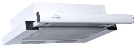Вытяжка встраиваемая Elikor Интегра 60П-400-В2Л белый встраиваемая вытяжка elikor интегра s2 60п 700 в2г белый белый