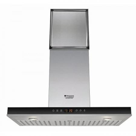 Вытяжка каминная Hotpoint-Ariston HLB 9.8 AADC X/HA вытяжка hotpoint ariston hhbs 9 7f lli x