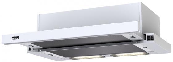 Вытяжка встраиваемая KRONA KAMILLA 600 white (1 мотор) шатура вытяжка krona alisa 600 electronic