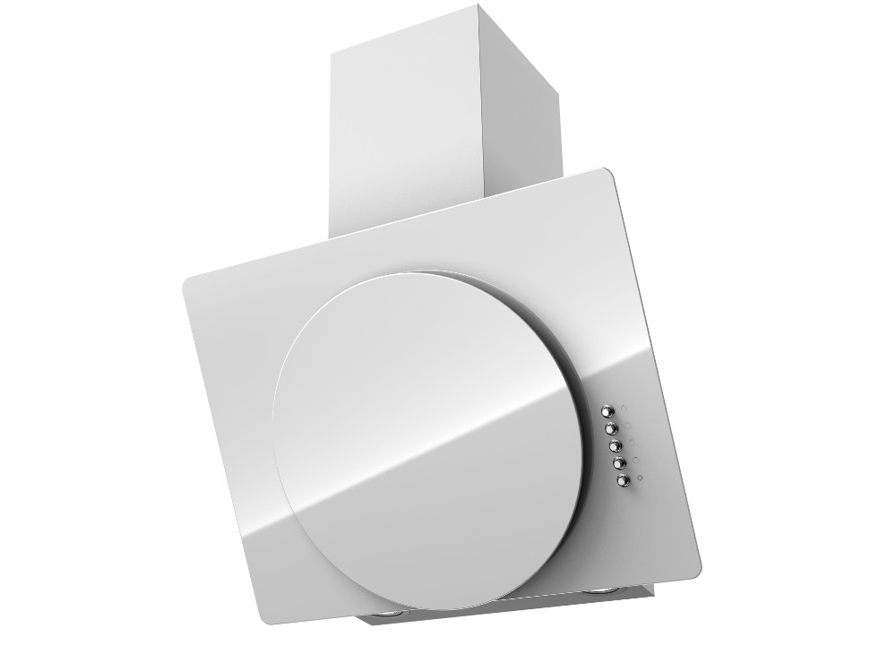 Вытяжка Krona FINA 600 white push button вытяжка krona diana 500 inox push button