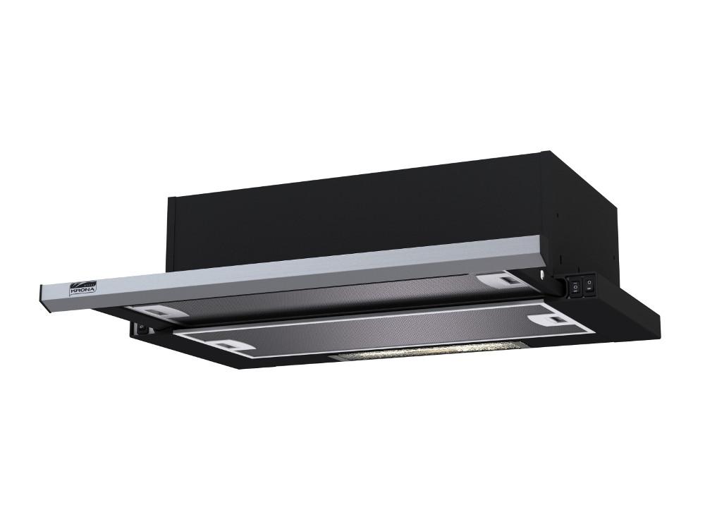 Kamilla slim 600 Black/Inox (2 мотора) krona kamilla sensor 600 black 2 мотора
