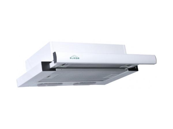 Вытяжка встраиваемая ELIKOR Интегра 50П-400-В2Л белый/белый встраиваемая вытяжка elikor интегра 60 крем крем