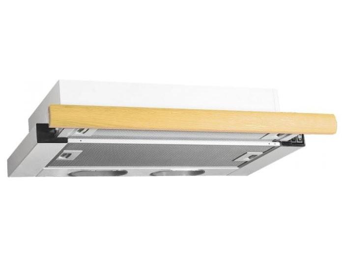 Вытяжка встраиваемая ELIKOR Интегра 60П-400-В2Л, Белый/Дуб выбеленный цена и фото