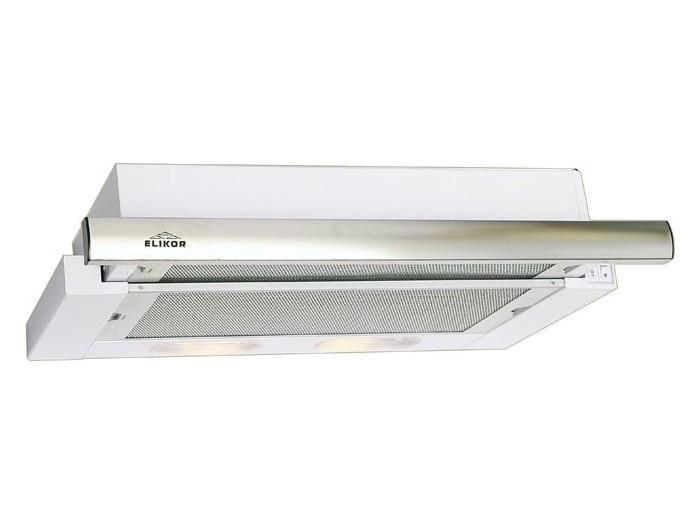 Вытяжка встраиваемая ELIKOR Интегра Интегра 60П-400-В2Л, Белый/нержавейка