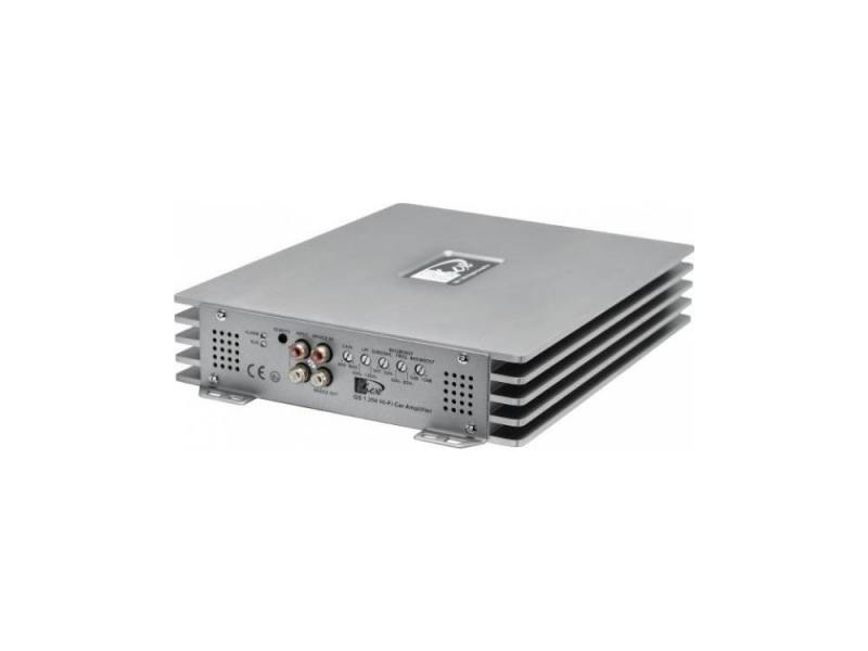 Усилитель звука Kicx QS 1.600 1-канальный 1x600 Вт усилитель звука kicx ap 2 80ab 2 канальный 2x80 вт