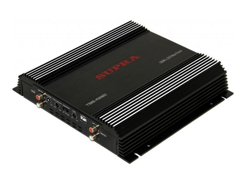 Усилитель звука Supra TBS-A2160 2-канальный 180Вт 4Ом цены онлайн