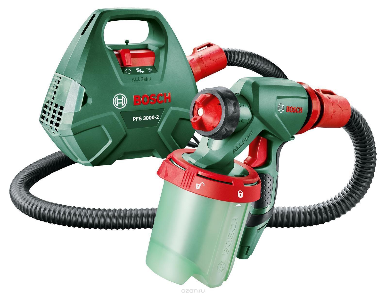 Краскопульт Bosch PFS 3000-2 краскораспылитель bosch pfs 5000 e 0603207200