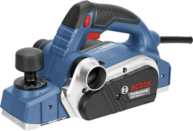 Рубанок Bosch GHO 26-82 710Вт 82мм 06015A4301 электрорубанок bosch gho 40 82 c 0 601 59a 760