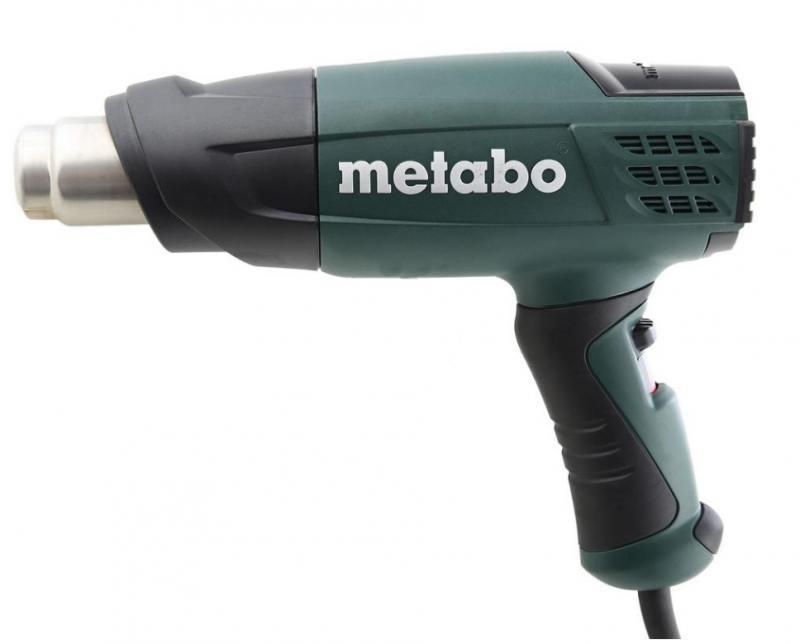 Фен технический Metabo HE 20-600 2000Вт строительный фен metabo he 23 650