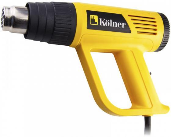 цена на Фен технический Kolner KHG 2000 2000Вт производительность 150/300/500 л/мин