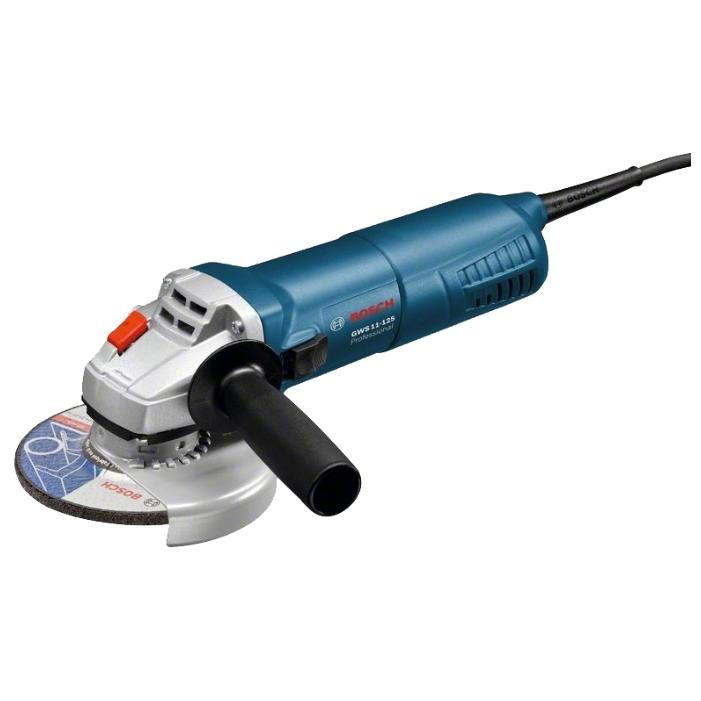Угловая шлифмашина Bosch GWS 11-125 1100Вт 125мм шлифмашина угловая skil 9035la 125мм 600вт