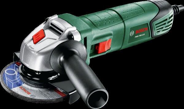 Угловая шлифовальная машина Bosch PWS 700-115 (06033A2020) шлифовальная машина bosch gss 230 ave professional