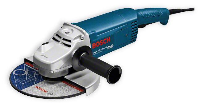 цена на Угловая шлифмашина Bosch GWS 22-230 JH 2200Вт 230мм