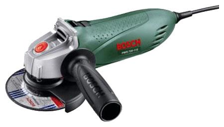 Угловая шлифовальная машина Bosch PWS 750-125 (06033A2422) шлифовальная машина bosch pws 1000 125 06033a2620