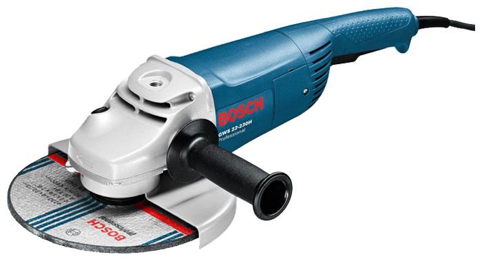 Угловая шлифовальная машина Bosch GWS 22-230 H (0601882103)