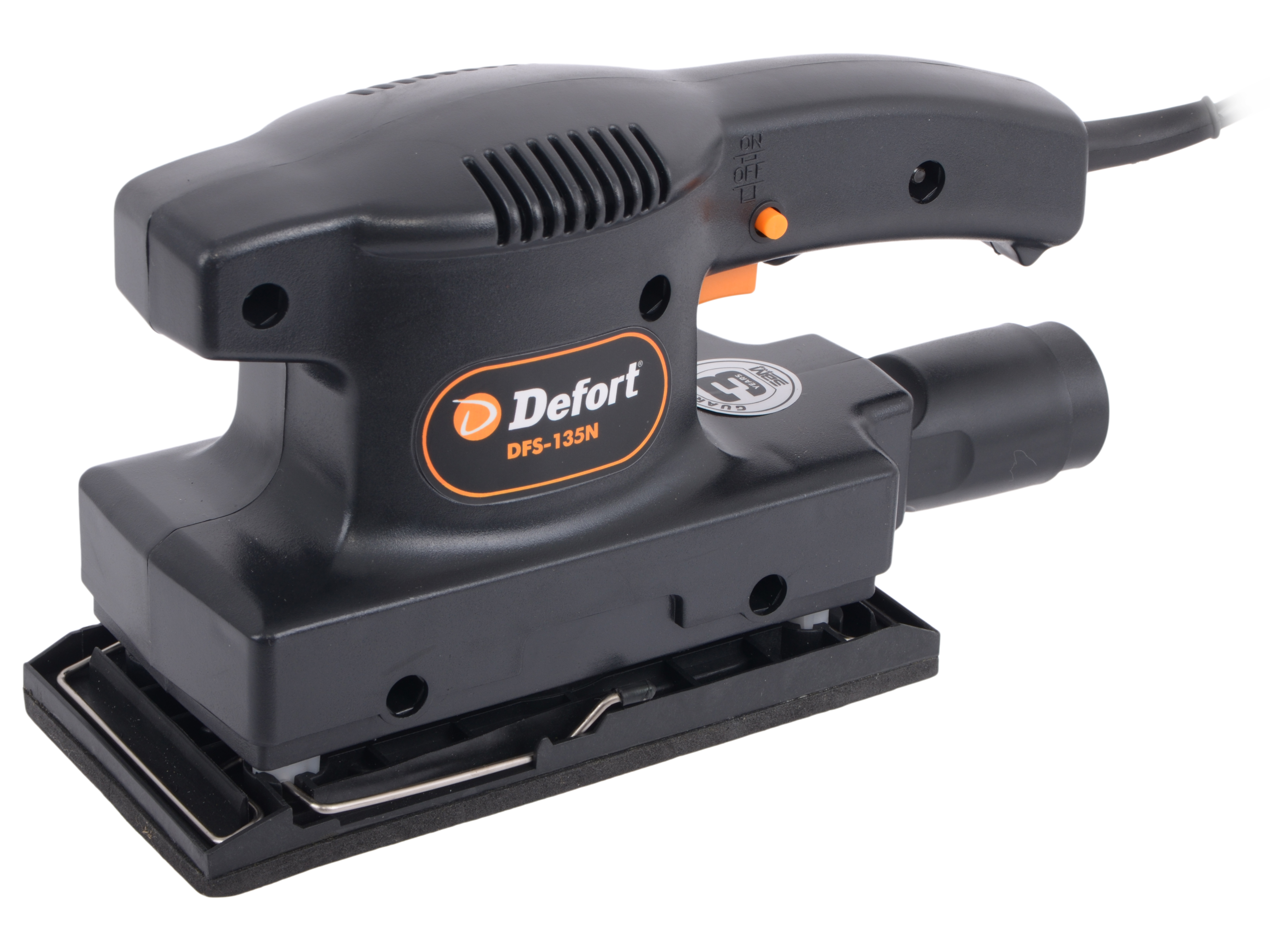 Виброшлифовальная машина Defort DFS-135N defort dsc 800