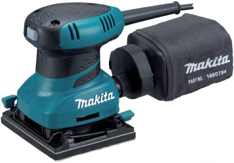 Виброшлифовальная машина Makita BO4555 200Вт виброшлифовальная машина makita bo3700 180вт