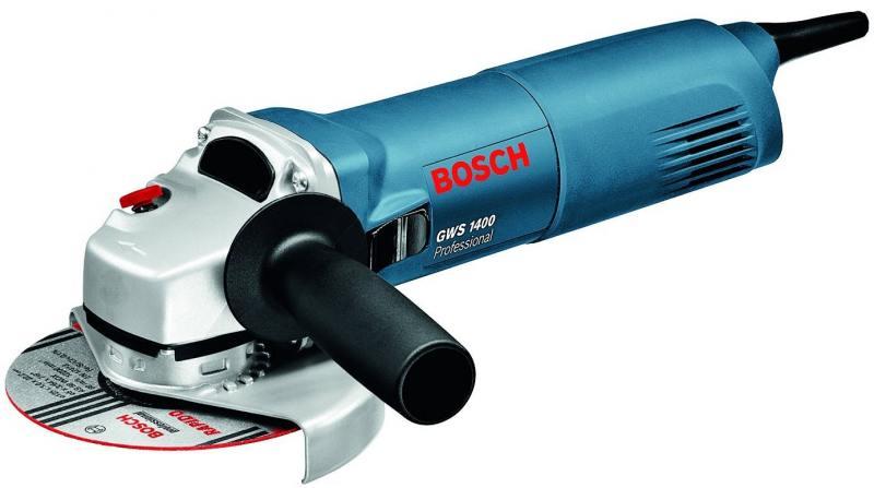 Угловая шлифовальная машина Bosch GWS 1400 (06018248R0) шлифовальная машина bosch gss 230 ave professional
