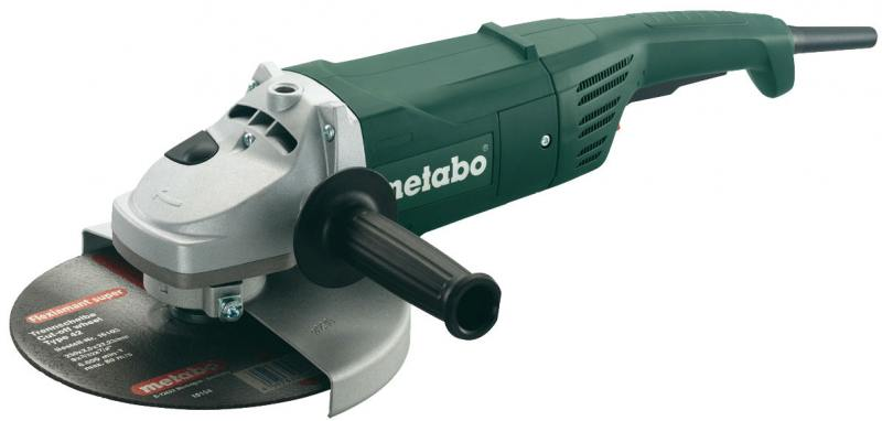 Угловая шлифовальная машина Metabo W 2000-230 (606420000) шлифовальная машина bosch gss 230 ave professional