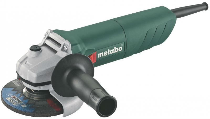 Угловая шлифовальная машина Metabo W 750-125 (601231010) ушм болгарка metabo w 750 125 601231010