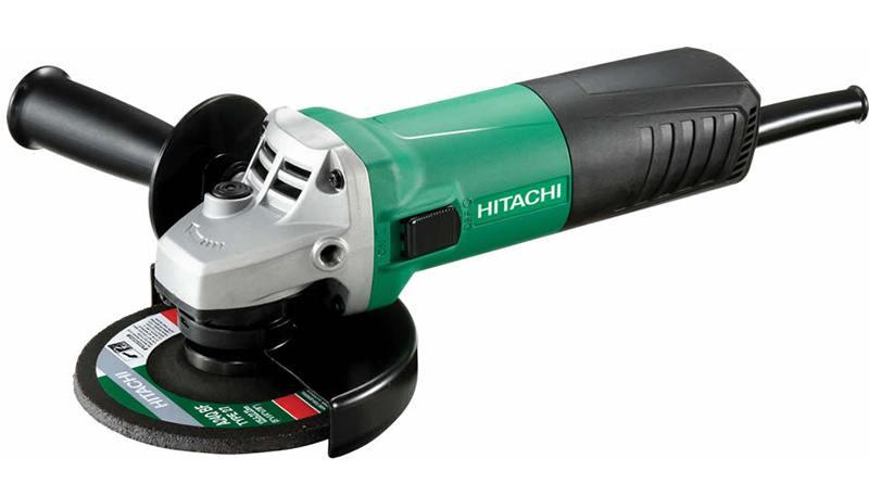 Угловая шлифомашина Hitachi G13SR4-NU 730Вт 125мм + алмазный диск ушм болгарка hitachi g13sr4 nu