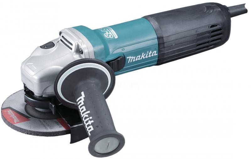 Угловая шлифомашина Makita GA5040 1100Вт 125мм угловая шлифомашина makita 9562ch 1200вт 125мм
