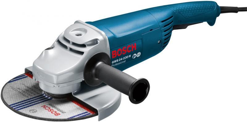Угловая шлифмашина Bosch GWS 24-230 H 2400Вт 230мм