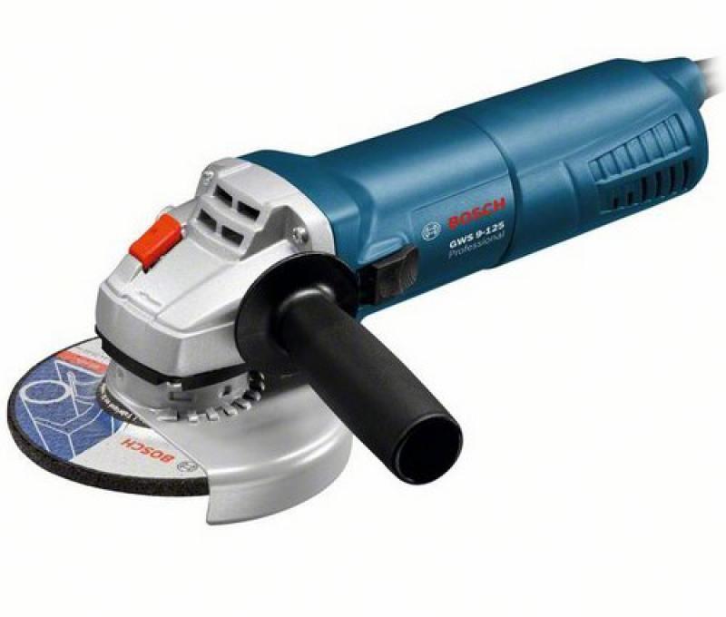 Угловая шлифмашина Bosch GWS 9-125 900Вт 125мм шлифмашина угловая skil 9035la 125мм 600вт