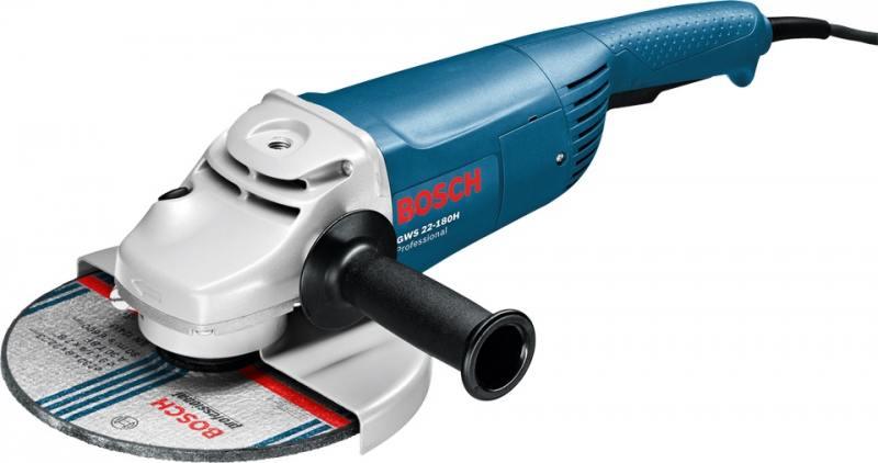 Угловая шлифмашина Bosch GWS 22-180 H 2200Вт 180мм