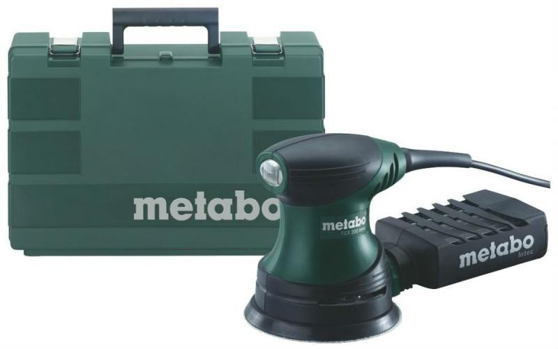 Эксцентриковая шлифмашина Metabo FSX 200 Intec 240Вт 125мм 609225500 metabo fsx 200 intec