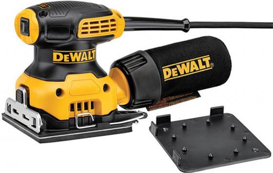 Виброшлифовальная машина DeWalt DWE6411-QS 230Вт дрель безударная dewalt d21520 qs 710вт